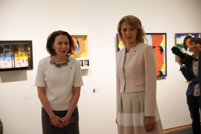 FOTOD | Presidendiprouad Ieva Ilves ja Jenni Haukio veedavad kultuurselt aega