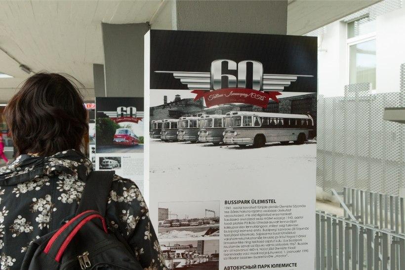 Смотри, как отпраздновали 60-летие автобусного маршрута Таллинн-Ленинград и какие автобусы работали в то время на линии