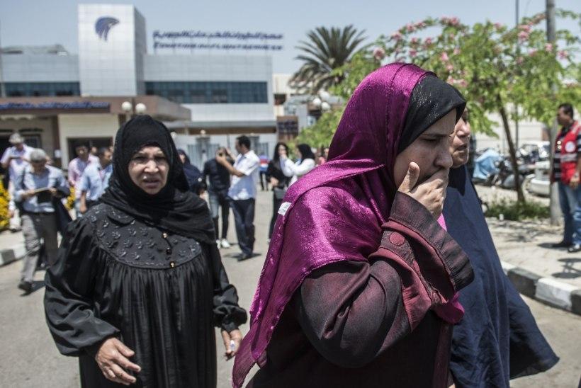 Lennukihukk Vahemeres: kas tõesti terroristide kätetöö?