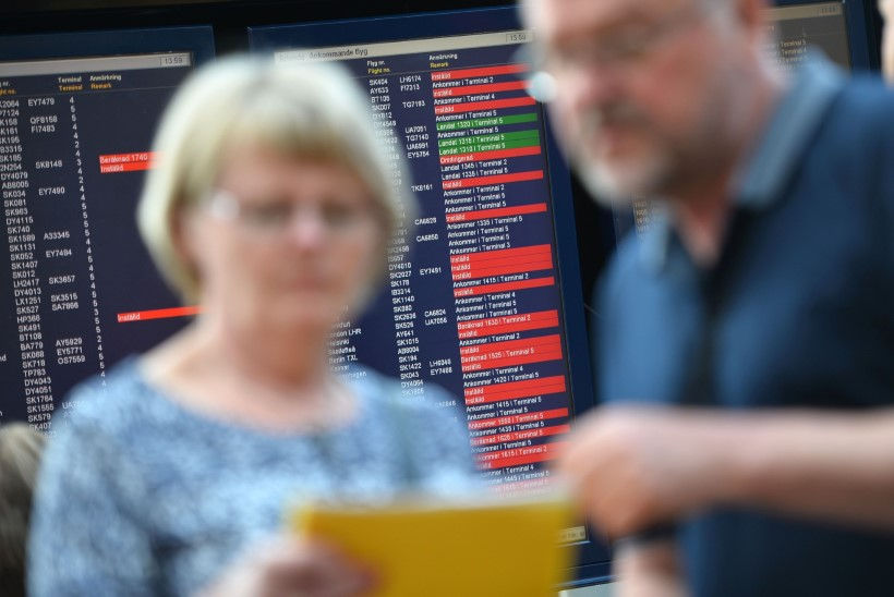 Rootsi lennujaamade IT-probleemid lõid sassi kogu sealse lennuliikluse