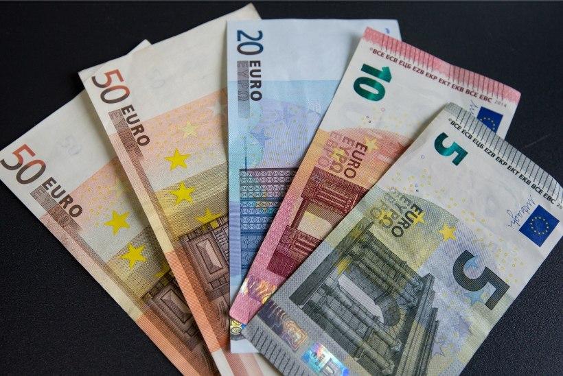 Eesti kuu keskmine brutotulu ületas mullu esmakordselt 1000 euro piiri