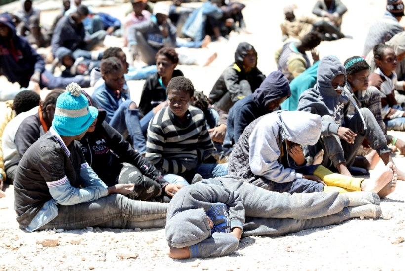 Liibüas ootab ülesõitu 500 000 põgenikku