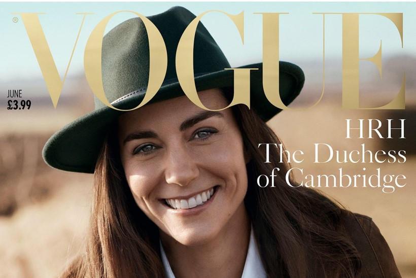 PILTUUDIS | Ajaloolise Vogue'i kaanel poseerib hertsoginna Catherine!