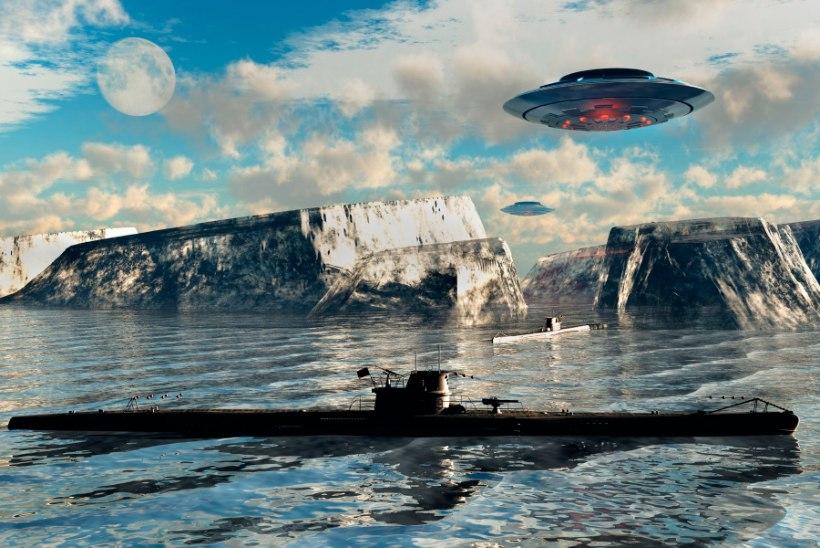 NATSI-SAKSAMAA KOLOONIA LÕUNAPOOLUSEL: kuidas Hitler Antarktikasse salajase baasi rajas