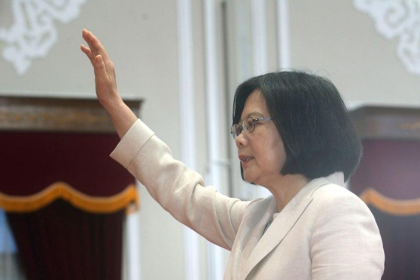 Taiwan sai naispresidendi, kes soovib rahulikke suhteid Hiinaga