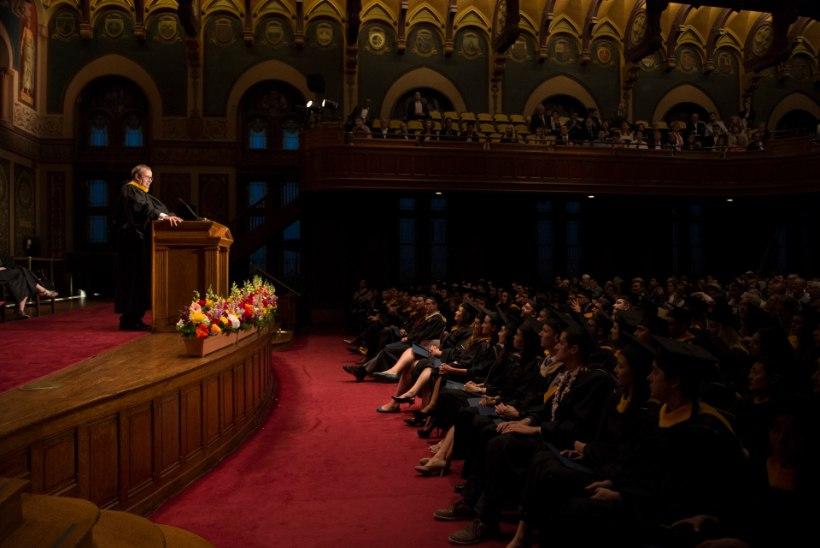 FOTOD | President Ilves pidas Georgetowni Ülikooli lõputseremoonial kõne