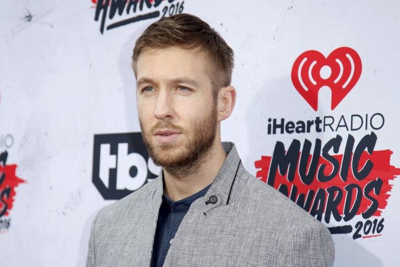 DJ Calvin Harris sattus autoõnnetusse
