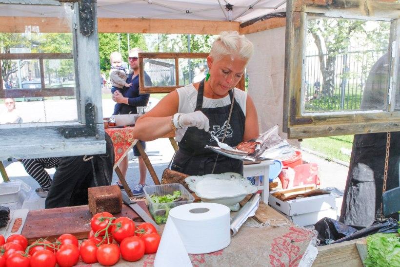 GALERII | Evelin Ilvese kohvikul on Kalamaja päevadel suur menu