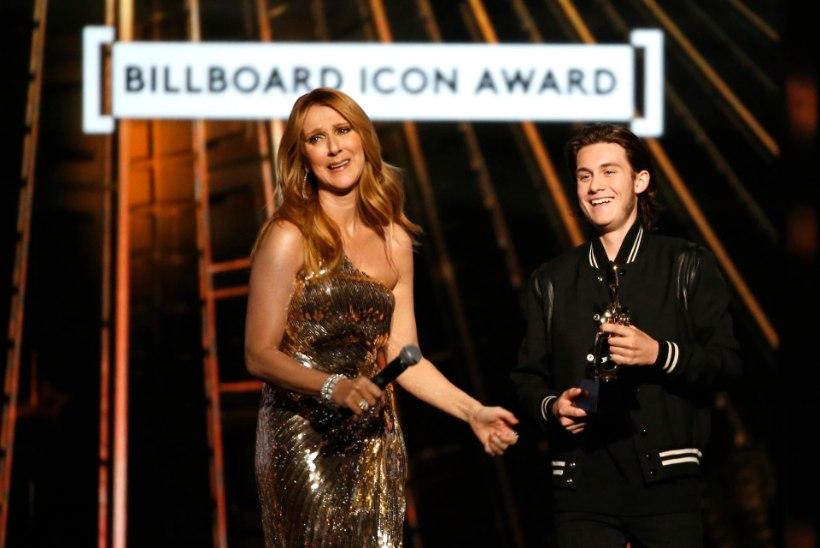 VIDEO | Celine Dioni poja lavale saabumine ajas lauljatari nutma