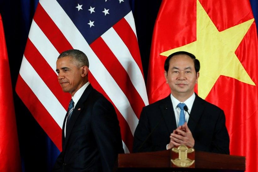 Obama teatas, et tühistab Vietnami relvaembargo