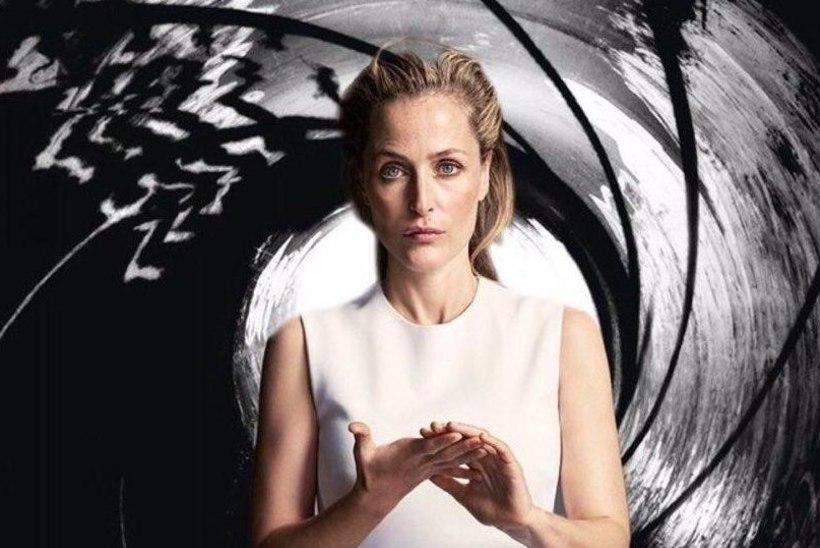 Kas Gillian Andersonist võib saada järgmine Bond?