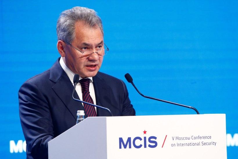 Šoigu: Venemaa on ühepoolselt valmis hävitama Süürias terroriorganisatsioonid