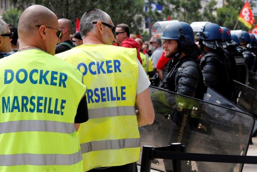 FOTOD   Üle nädala kestnud streigid on põhjustanud Prantsusmaal suure kütusekriisi