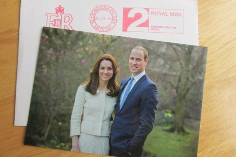 PILTUUDIS   Kate ja William lasid endist viiendal pulma-aastapäeval kauni foto teha