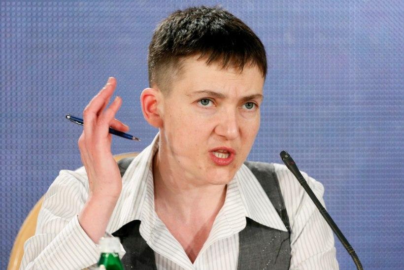 Nadia Savtšenko: kui rahvas tahab, hakkan Ukraina presidendiks