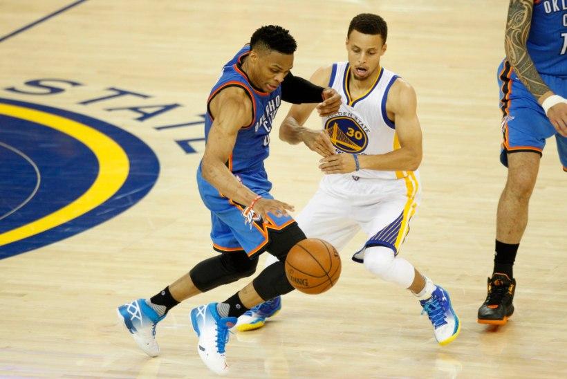 VIDEO | Curry hoidis NBA valitseva meistri elus, vähemalt veel üheks mänguks