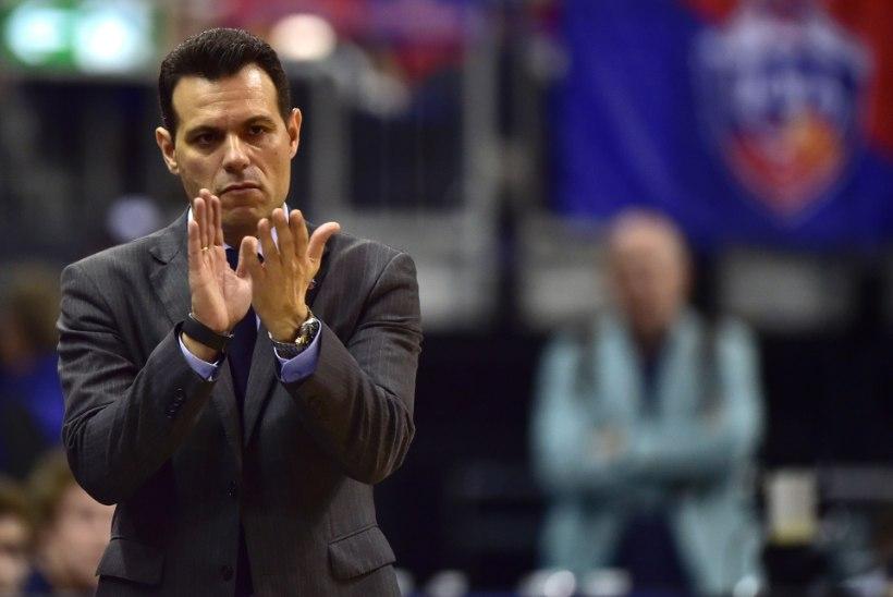 CSKA peatreener Dimitris Itoudis lõbusast korvpallist: kui sul on kvaliteetsed mängijad, tuleb see ära kasutada