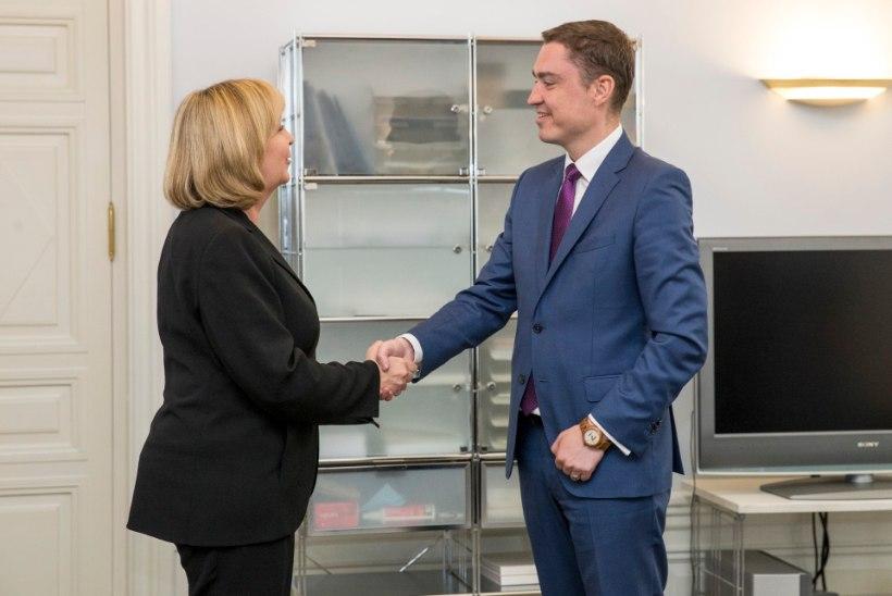 FOTOD | Eestisse saabus töövisiidile Saksamaa Liitvabariigi välisminister Frank-Walter Steinmeier