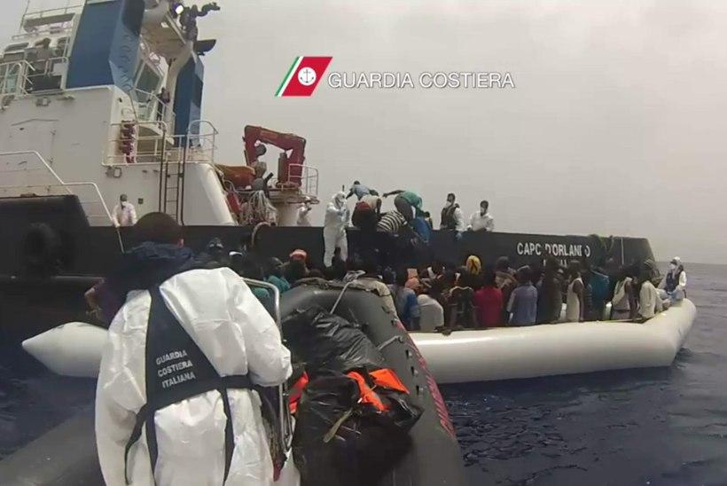 Sajad pagulased hukkusid
