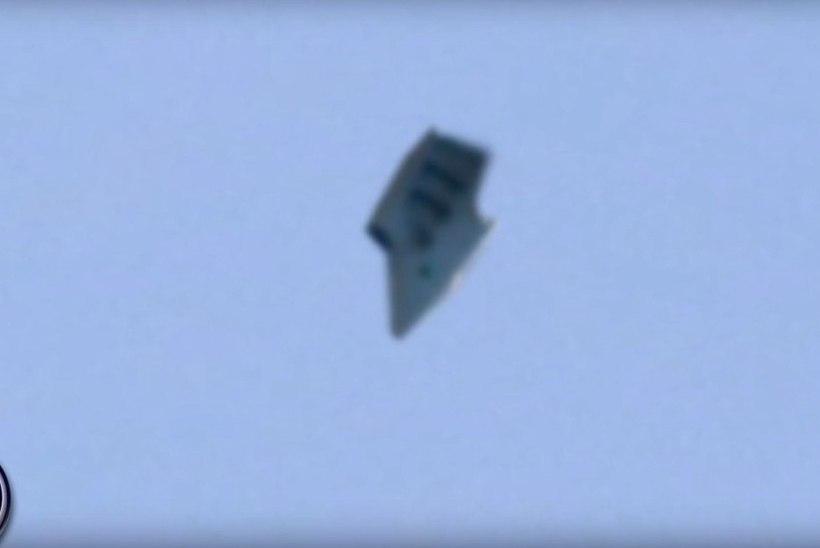 Lennuväebaasi kohal märgati ufot