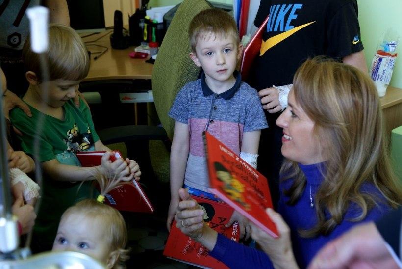 FOTOD | Ieva Ilves Narva haigla lasteosakonnas: on hea ja õige, et lapsed saavad kodulinnas tasemel ravi