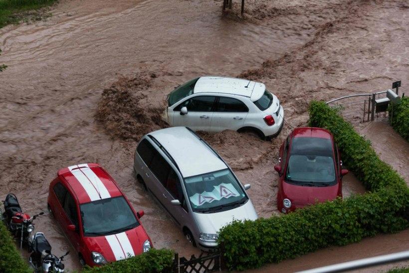 Lõuna-Saksamaad räsivad üleujutused, kolm inimest on hukkunud
