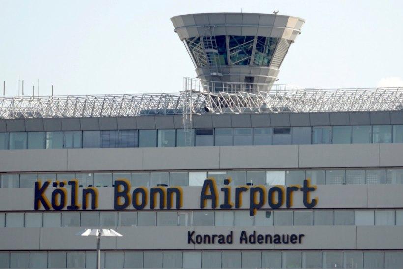 Kölni lennujaam suleti terroriohu tõttu
