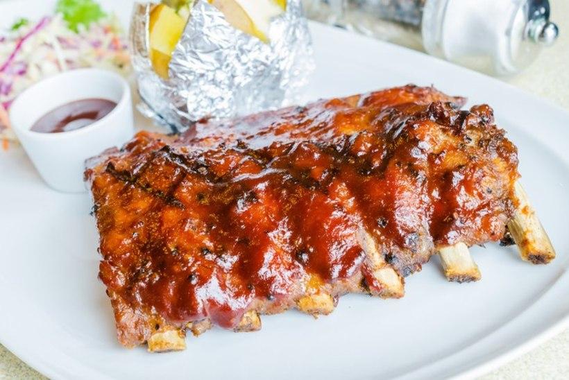 Vürtsikas-magusad grillribid