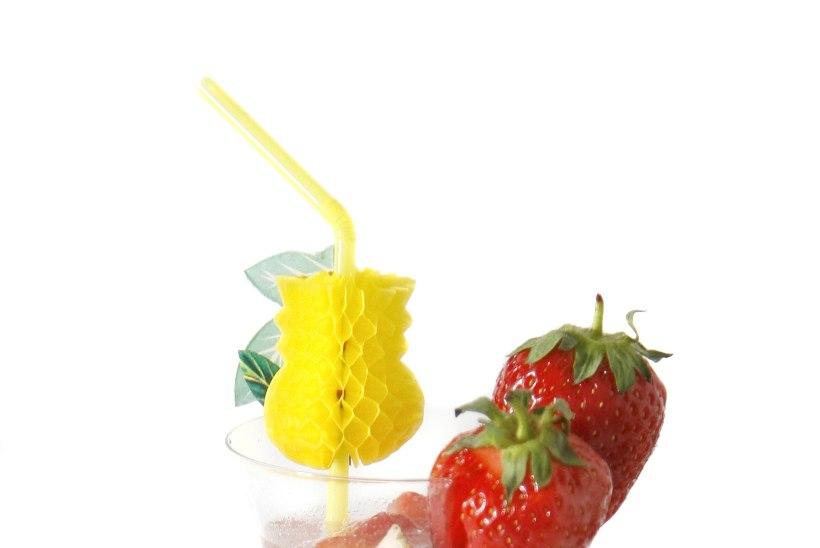 Parim kuuma ilma jook - maasikabool!