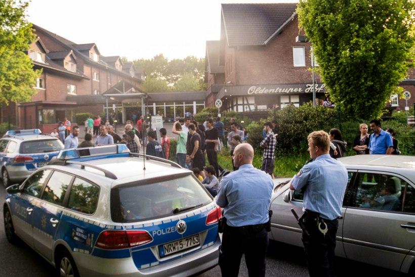 Saksamaa vaevleb Tšetšeeniast saabuvate põgenike tulva käes