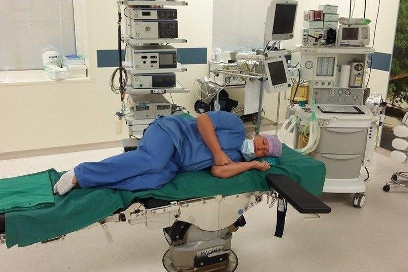 GALERII | Arstid ja õed tulid täna padjaga tööle