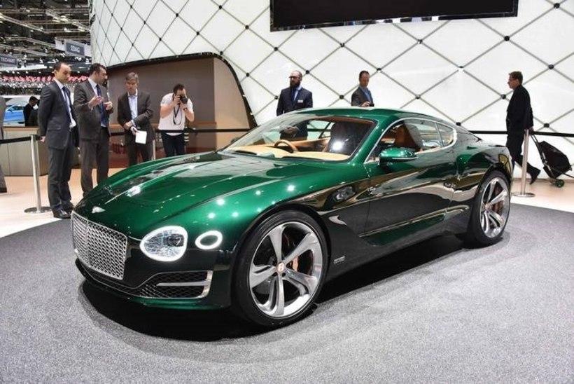 Varsti otsustatakse Bentley EXP 10 Speed 6 saatuse üle