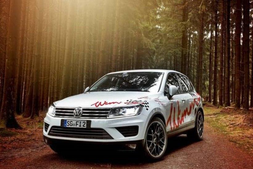 Fotod: ülesvuntsitud Volkswagen Touareg