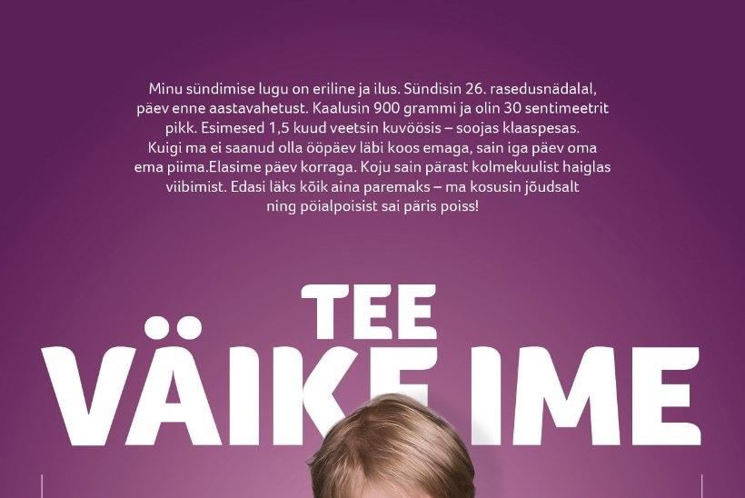 Tallinna lastehaigla toetusfond kutsub toetama enneaegseid lapsi