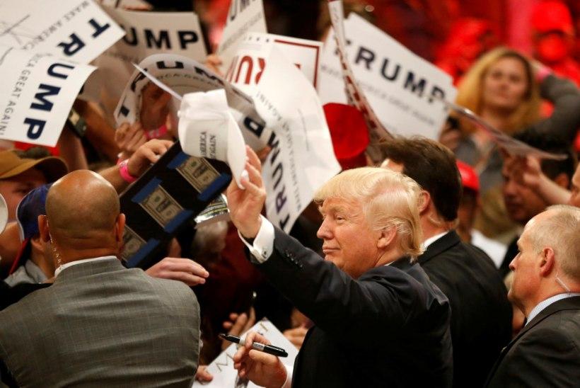 The Rolling Stones nõudis, et  Trump lõpetaks kampaaniates nende laulude kasutamise