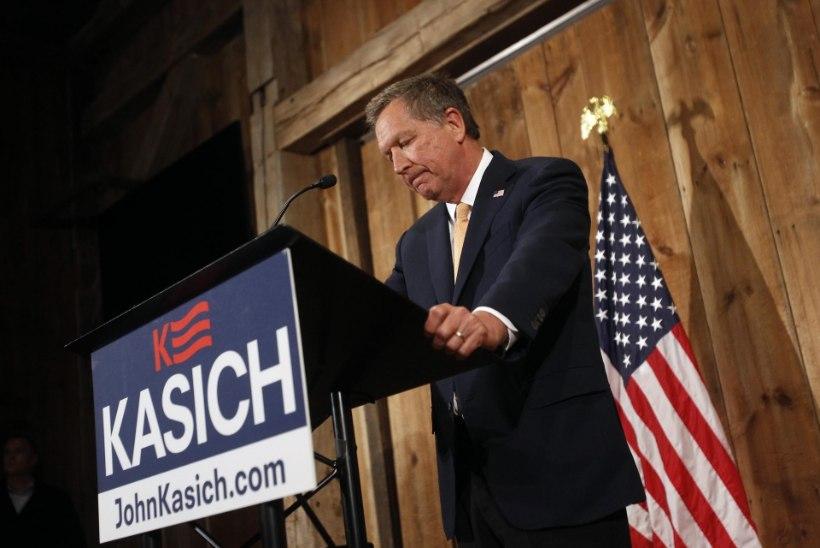 Ka Kasich mängust väljas, vabariiklaste ainus presidendikandidaat on Trump
