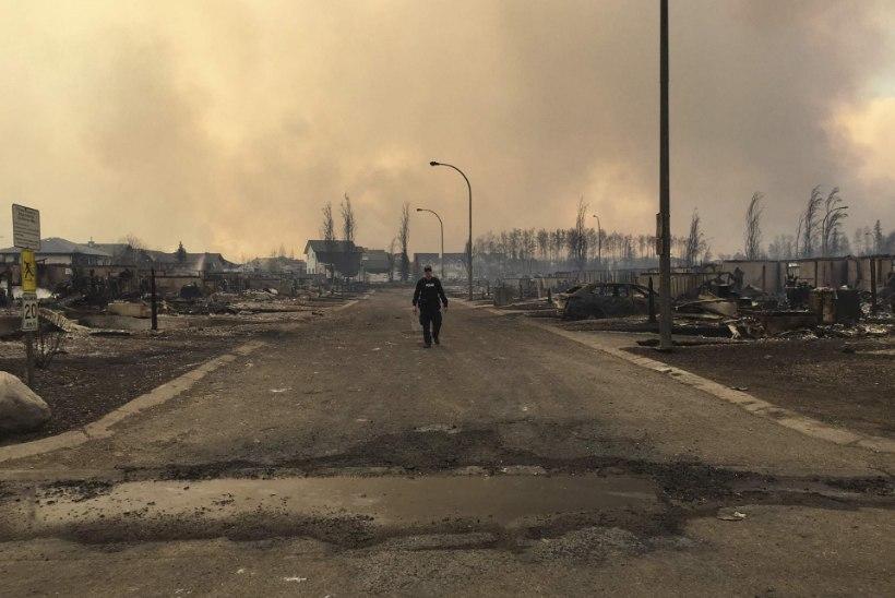 Kanada hiigelpõleng jättis kümned tuhanded inimesed kodudeta