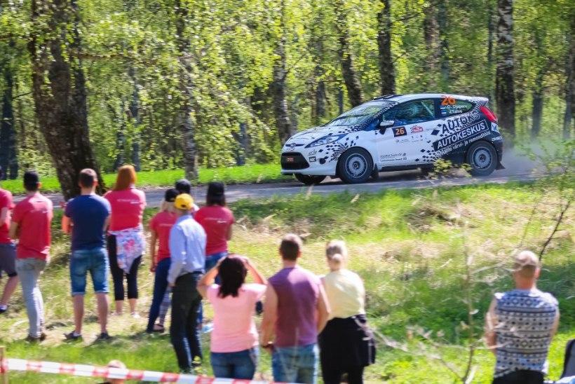 Oliver Ojaperv ja Jarno Talve võitsid Baltic Rally Trophy avaetapi Lätis