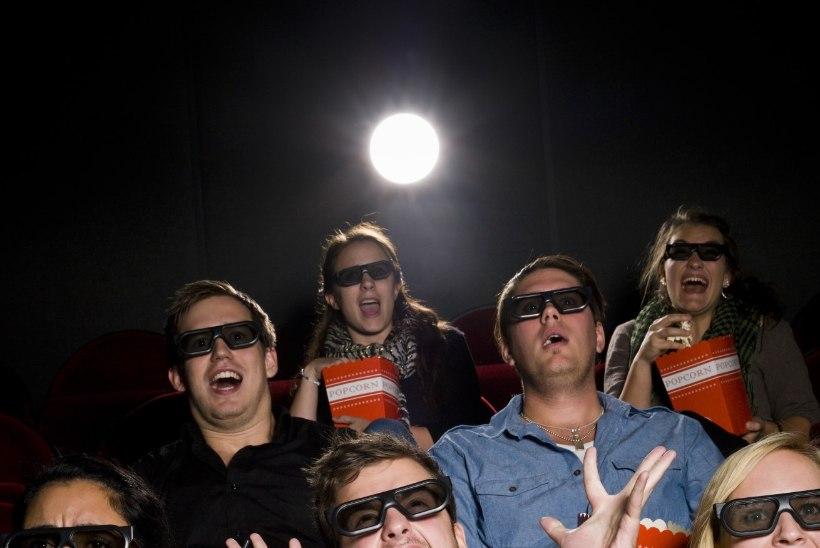 Ettevaatust! Iga kümnes 3D kino külastaja võib filmielamuse asemel kinost lahkuda peavaluga!
