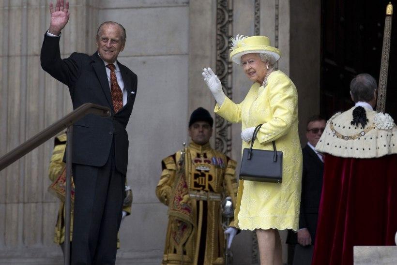 Prints Philipi 95. sünnipäev jäi kuninganna Elizabethi juubeli varju