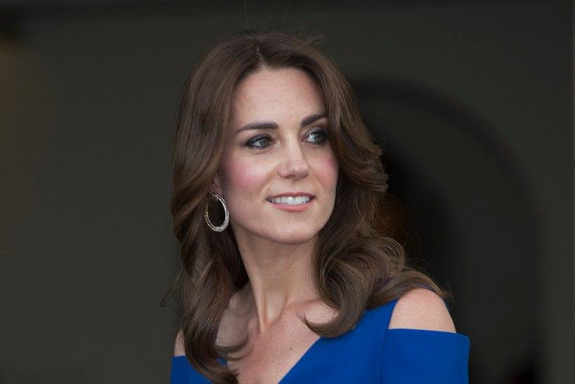 FOTOD   PEO KAUNITAR: hertsoginna Catherine säras sügavsinises õhtukleidis