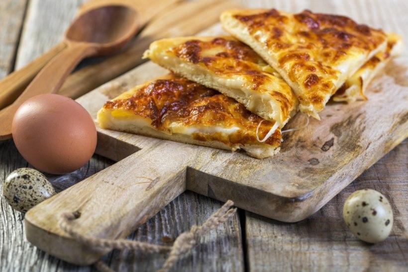 Rannailma veel ei tule!  Tee endale üks ürdi-juustutäidisega sai!