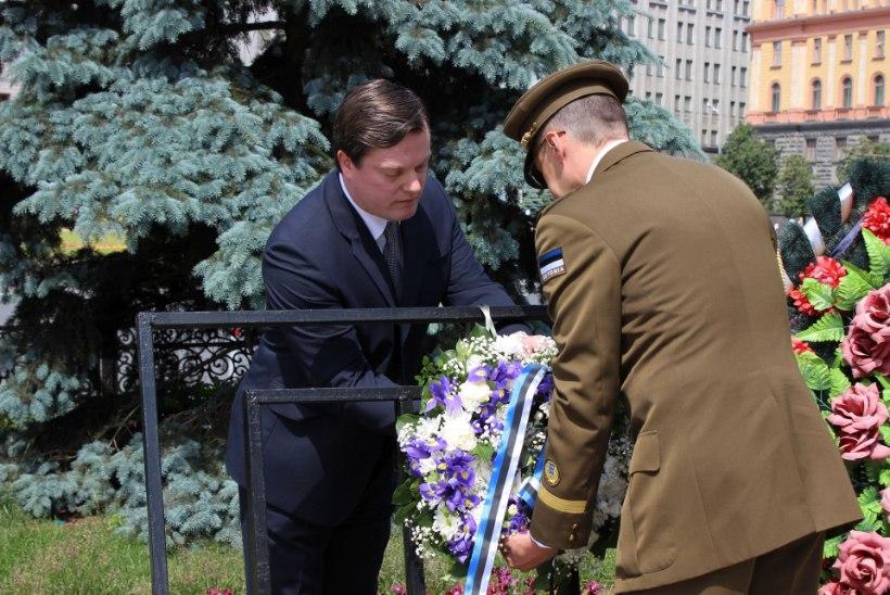 Eesti, Läti ja Leedu saadikud Moskvas mälestasid 1941. aasta juuniküüditamise ohvreid