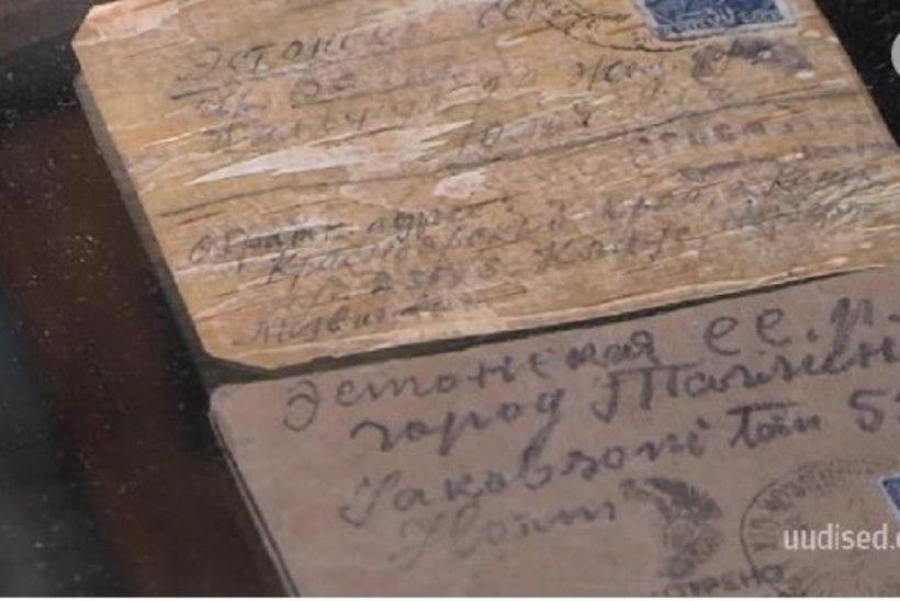 TV3 VIDEO   Siberi vangilaagritest saadeti Eestisse kirju kasetohust paberil