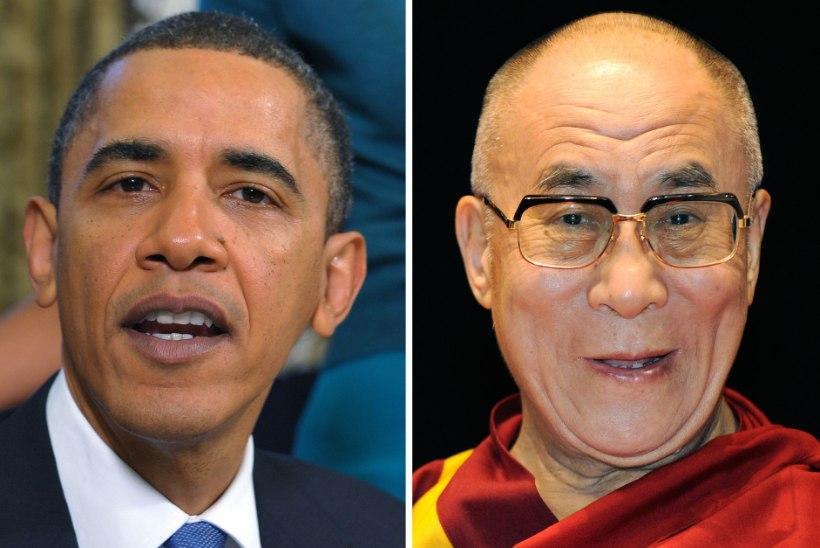 ÄRRITAB HIINAT: Obama kohtub nii dalai-laama kui Taiwani presidendiga