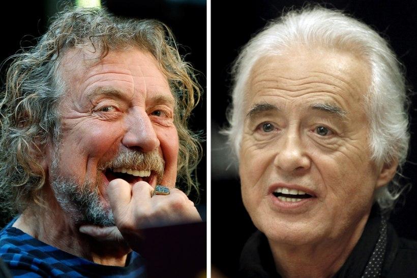 Led Zeppelini liikmed eitasid laulu varastamist