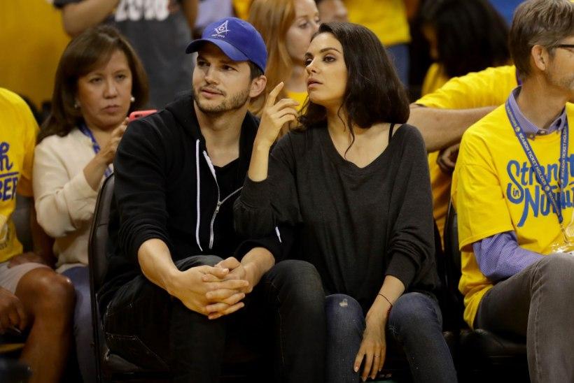 Mila Kunis ja Ashton Kutcher saavad teise lapse