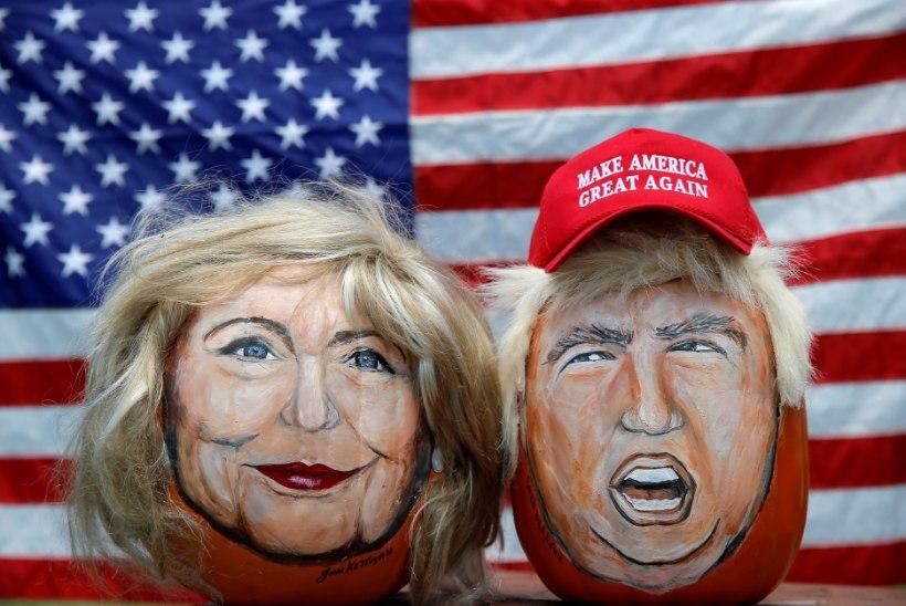 Clinton või Trump: kes saab presidendiks?