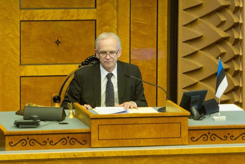 Argielu Toompeal: suur osa rahvasaadikutest lihtsalt ei suvatsenud istungile ilmuda