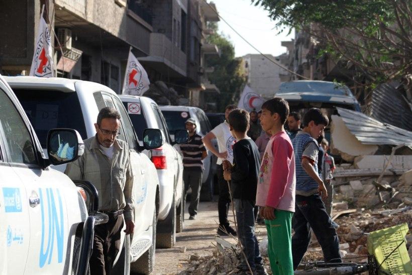 Lääneriigid: süürlaste abistamiseks on vaja õhusilda